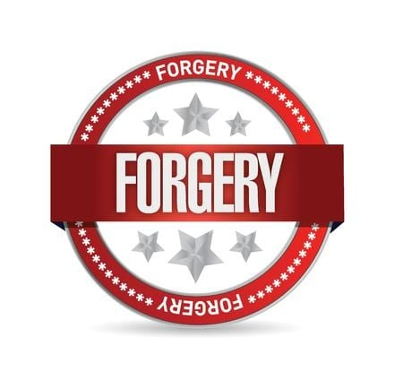 Forgery is a punishable offence