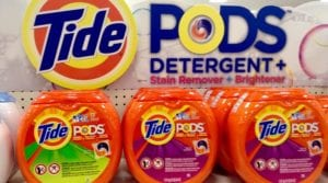 Laundry detergent capsules and pediatric poisoning