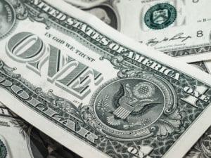 "Phrase ""We Believe In God"" From Dollars"